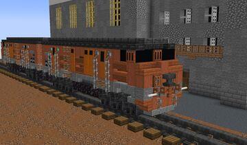 TE10 - Soviet Diesel-electric Locomotive Minecraft Map & Project