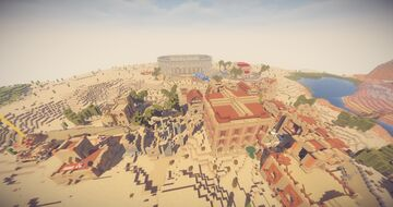 Desert City - Oasis Minecraft Map & Project
