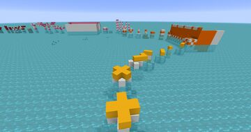 Infinity Parkour: Create Mod Water Park Minecraft Map & Project