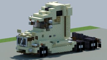 Volvo vnr 660 Truck, [With Download] Minecraft Map & Project