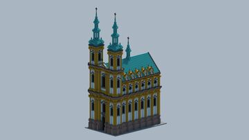 a baroque church of its own design Minecraft Map & Project