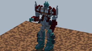 Transformers, Optimus Prime, Gen 1 [With Download] Minecraft Map & Project