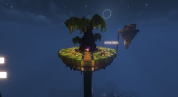 Sky islands realm Minecraft Map & Project