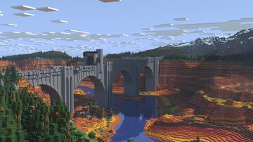 Bridge of the falling excrement (timelapse + download) Minecraft Map & Project
