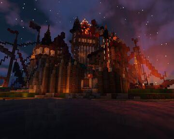Cardtlers' Trio ( Fantasy Castle ) Minecraft Map & Project
