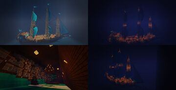 Ship the Volle Maen Minecraft Map & Project