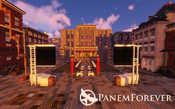 Panem Forever   District 7   World of the Hunger Games Minecraft Map & Project