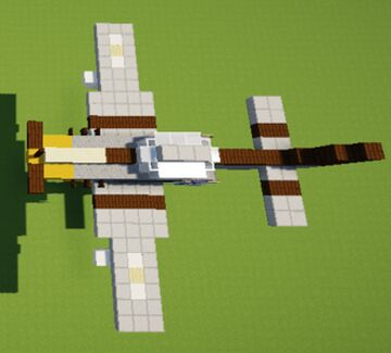 Mustang P-51 Minecraft Map & Project