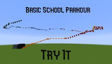 Basic School Parkour Minecraft Map & Project