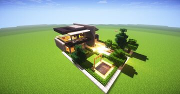Minecraft Modern Mansion by TheDream31 Minecraft Map & Project