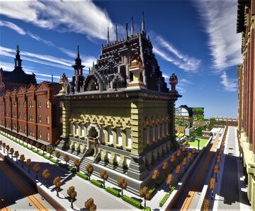 Northern European palace library Minecraft Map & Project
