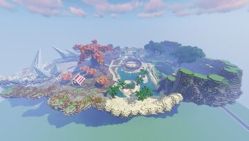 PokeSeasons Pixelmon Spawn - Completed Commission by MagmaTeam Minecraft Map & Project