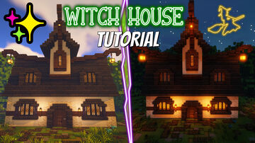 Witch house best witch buildings Minecraft Map & Project