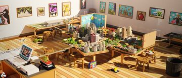Papercraft 2: City Project   Client Work/Collaboration With Jigarbov Productions Minecraft Map & Project