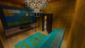 Escape the Giant House Minecraft Map & Project