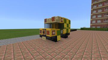 A London Ambulance Minecraft Map & Project