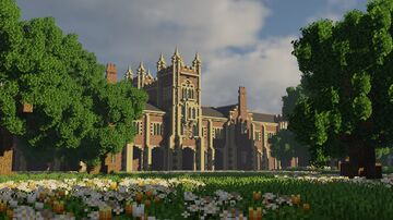 The Lanyon Building, Queen's University Belfast Minecraft Map & Project
