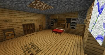 Survival Bunker Minecraft Map & Project