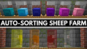 Trade-Optimized Sheep Farm Minecraft Map & Project