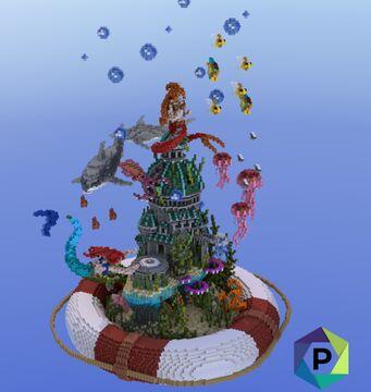 Mermaid Kingdom Hub   1.8+ Minecraft Map & Project
