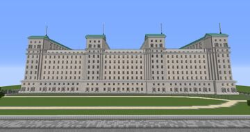 Ministry of Defence- London Minecraft Map & Project