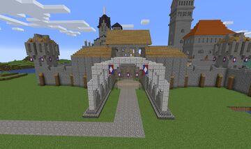Porte de la ville de Caenaux Minecraft Map & Project