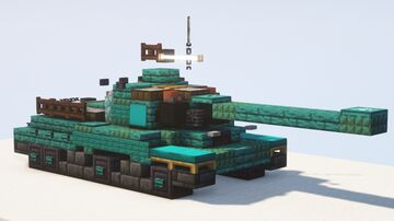 IS-2 & IS-2M heavy tank - 1.5:1 scale Minecraft Map & Project