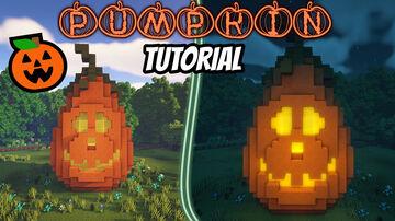 Pumpkin design halloween Minecraft Map & Project
