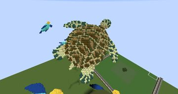 Couple of sea animals Minecraft Map & Project