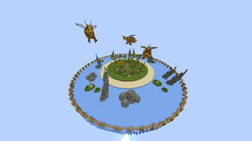 Floral Island 1.16.5 Minecraft Map & Project