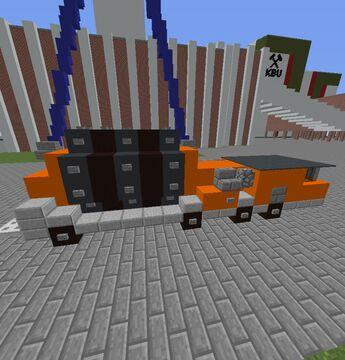Friktionswindenfahrzeug Minecraft Map & Project
