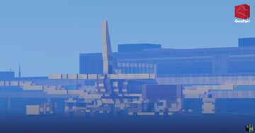 Schiphol Airport Amsterdam 1:1 Minecraft Map & Project
