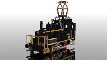 "SBB E 3/3 Hybrid ""Tigerli"" | 5:1 Electric-steam locomotive Minecraft Map & Project"
