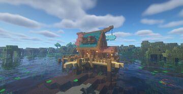 Fisherman's House | Casa de Pescador Minecraft Map & Project