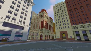Ornate Early 1900's High-rise: Oakwood City Minecraft Map & Project