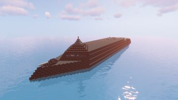 Arsenal ship [FULL INTERIOR] (fictional project 1:1 scale) Minecraft Map & Project