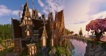 Cliff Side Mansion (1.14.4) Minecraft Map & Project