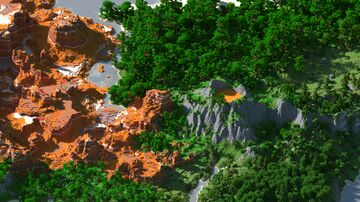 Two mini-maps of dinosaurs and adventures Minecraft Map & Project