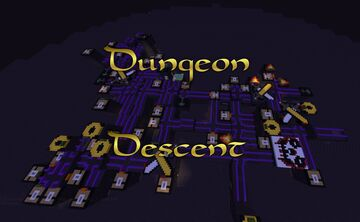 Dungeon Descent Minecraft Map & Project