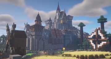 Small Fortress Minecraft Map & Project