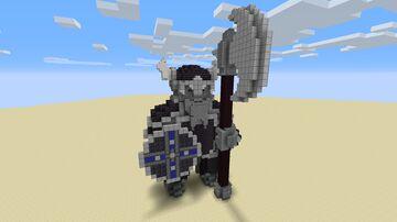 Dwarf Statue Minecraft Map & Project