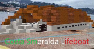 Costa Smeralda Lifeboat Minecraft Map & Project