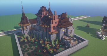 Castle Pelk Minecraft Map & Project