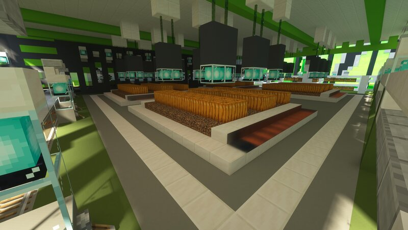 Ground floor farming area
