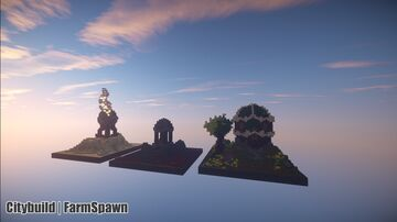 Farm Spawn Minecraft Map & Project