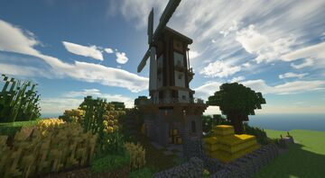 Windmühle | Wind Mill [Free Download] Minecraft Map & Project