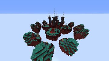 Skywars Dwarven Remake Nether Themed Minecraft Map & Project