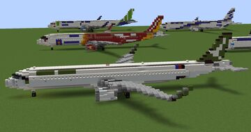 Airbus A321neo pack (Happy Reunification Day special pack) Minecraft Map & Project