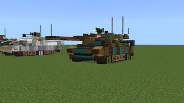 K2 BlackPanther MBT Minecraft Map & Project