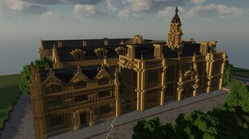 Jacobean College Building Minecraft Map & Project